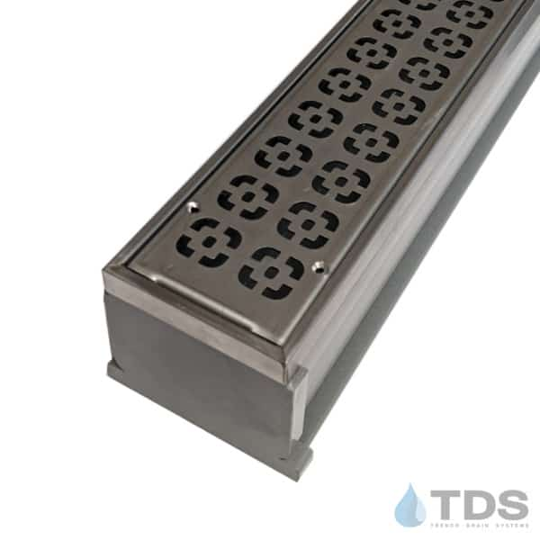 MMG-SS-DECO MAX Mini kit with gray channel and stainless steel grate