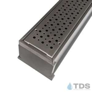 MMG-SS-FOAM MAX Mini kit with gray channel and stainless steel grate
