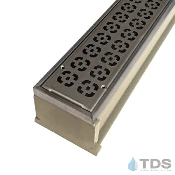 MMS-SS-DECO MAX Mini kit with sand channel and stainless steel grate