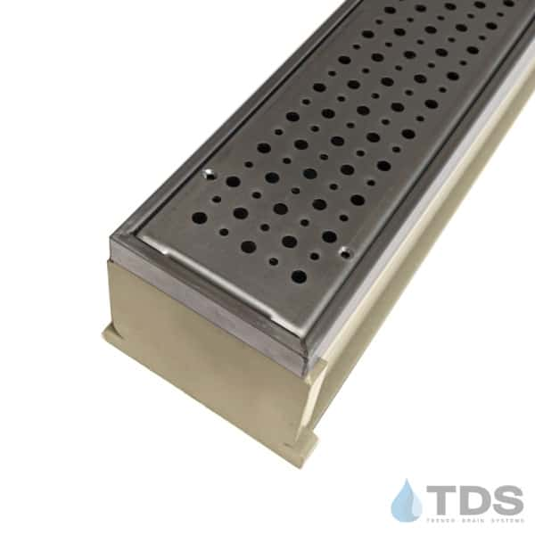 MMS-SS-FOAM MAX Mini kit with sand channel and stainless steel grate