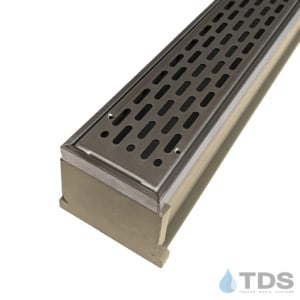 MMS-SS-SLOT MAX Mini kit with sand channel and stainless steel grate