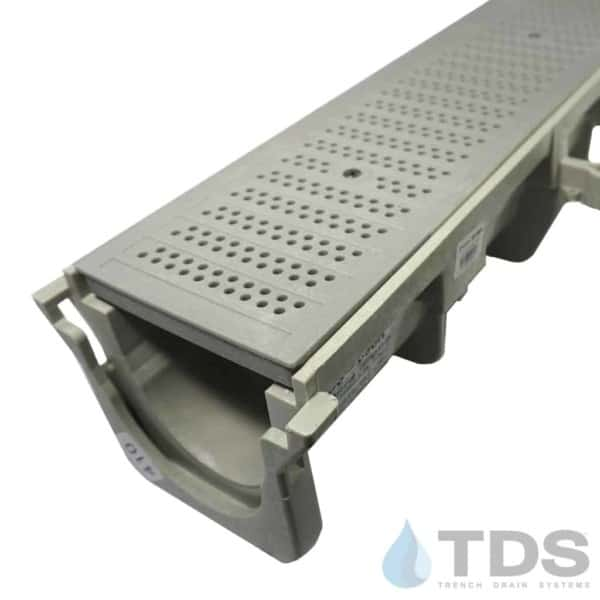 NDS-Dura-XX-670 with Light Gray Plastic Perforated Grate