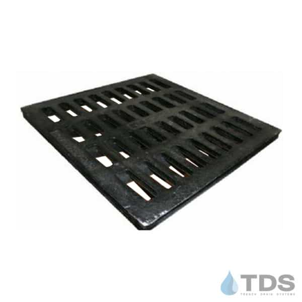 NDS2413_24 inch Black Cast Iron Grate