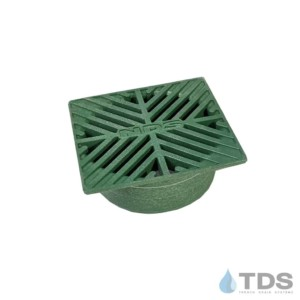 NDS7 5inch square green slotted grate
