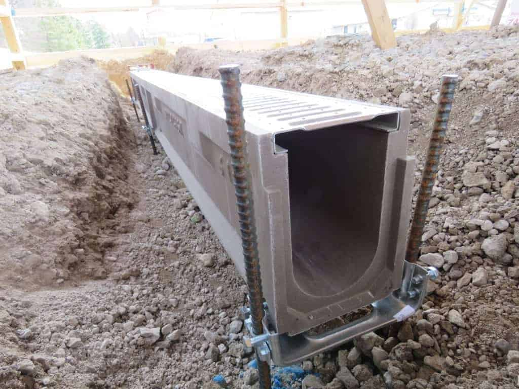POLYCAST trench drain