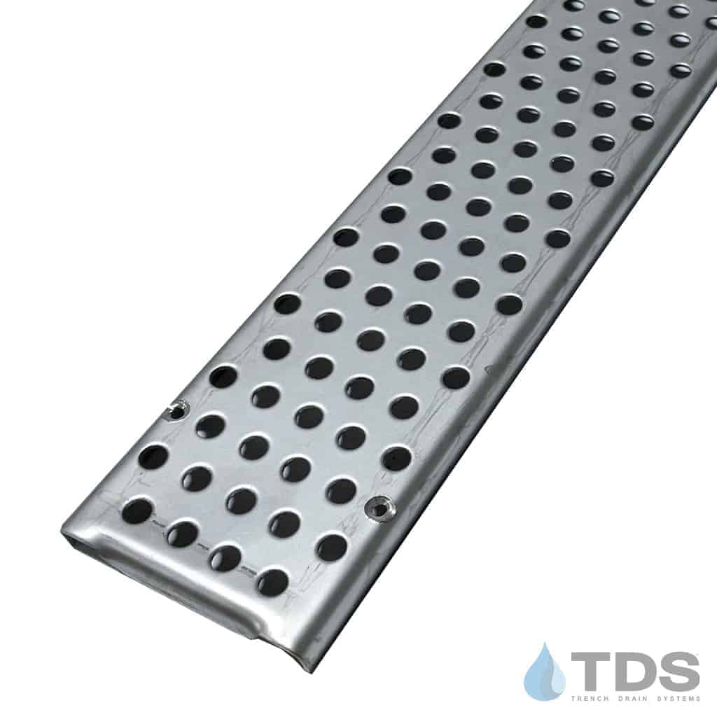 Stainless Steel Perforated 3 inch Mini Channel Grate