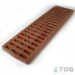 NDS Pro Series 5 Slotted Brick Red Grate NDS 818
